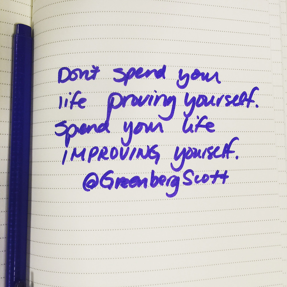 Quote from Keynote Scott Greenberg