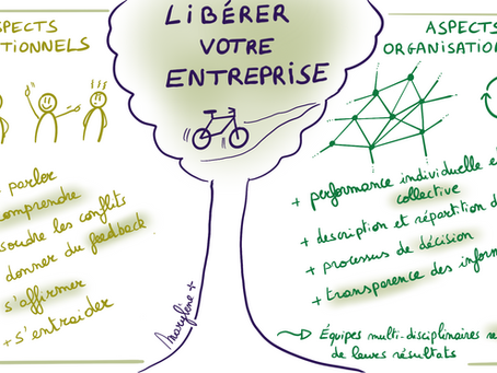 Libérer l'entreprise: aspects relationnels et organisationnels