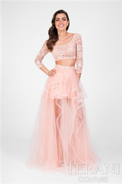 Peach Tulle 2pc