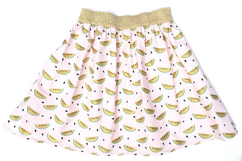 Flared Watermelon Skirt
