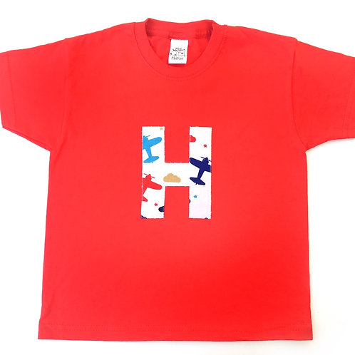 Personalised Initial T-shirt