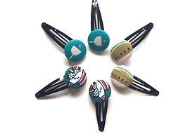 hair slides, hair clips for girls