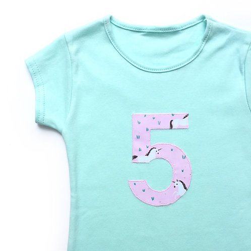 Personalised Number T-shirt