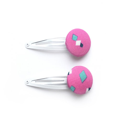 Pink Hair Slides