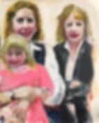"""My Sister & Her Little Girl"" 24x30x1.jp"