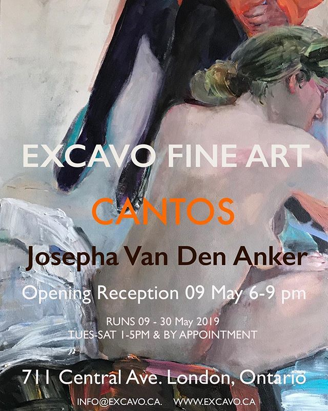 """CANTOS"" Exhibition Invitation_._"