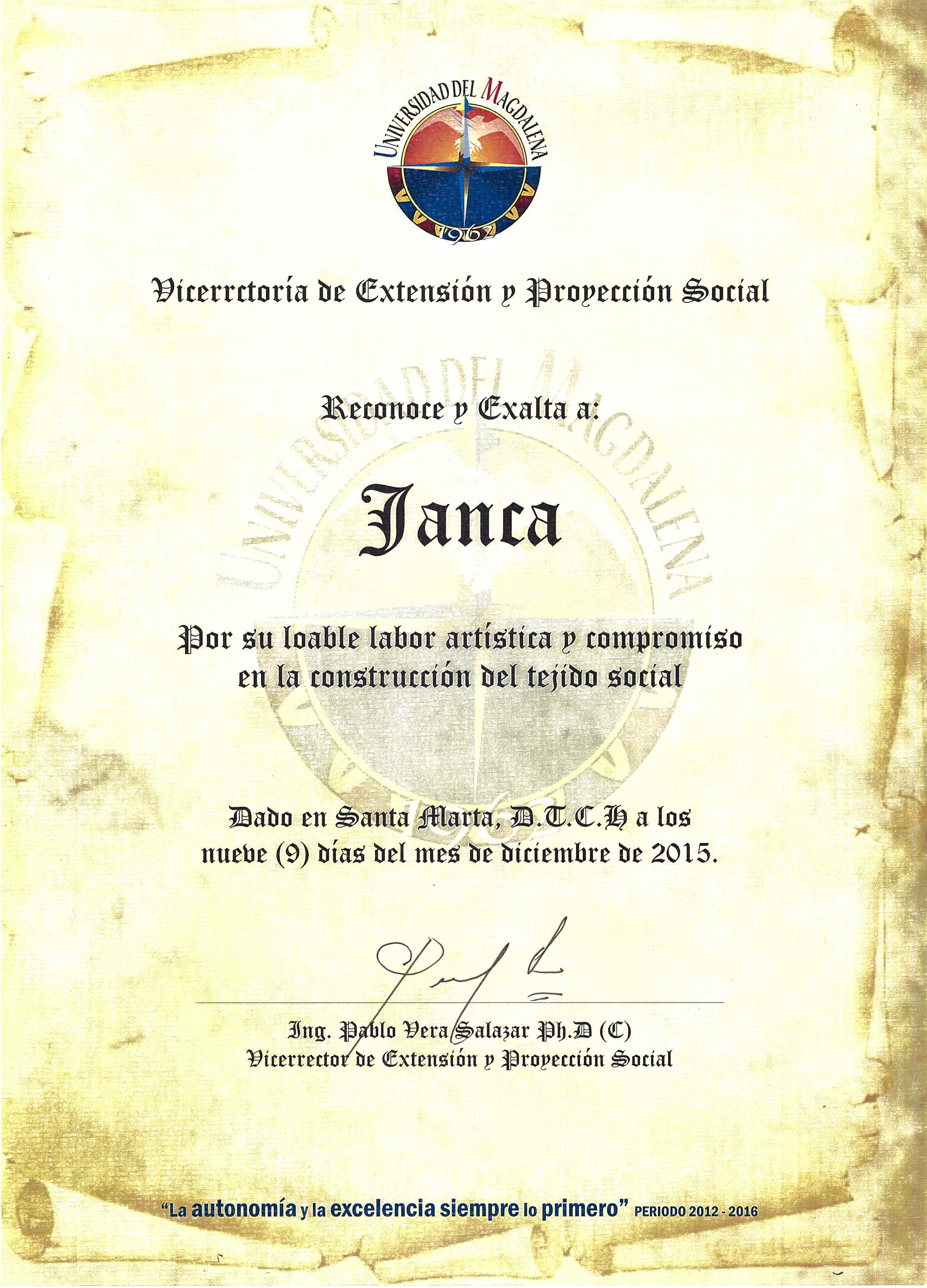 diploma univer magdalena