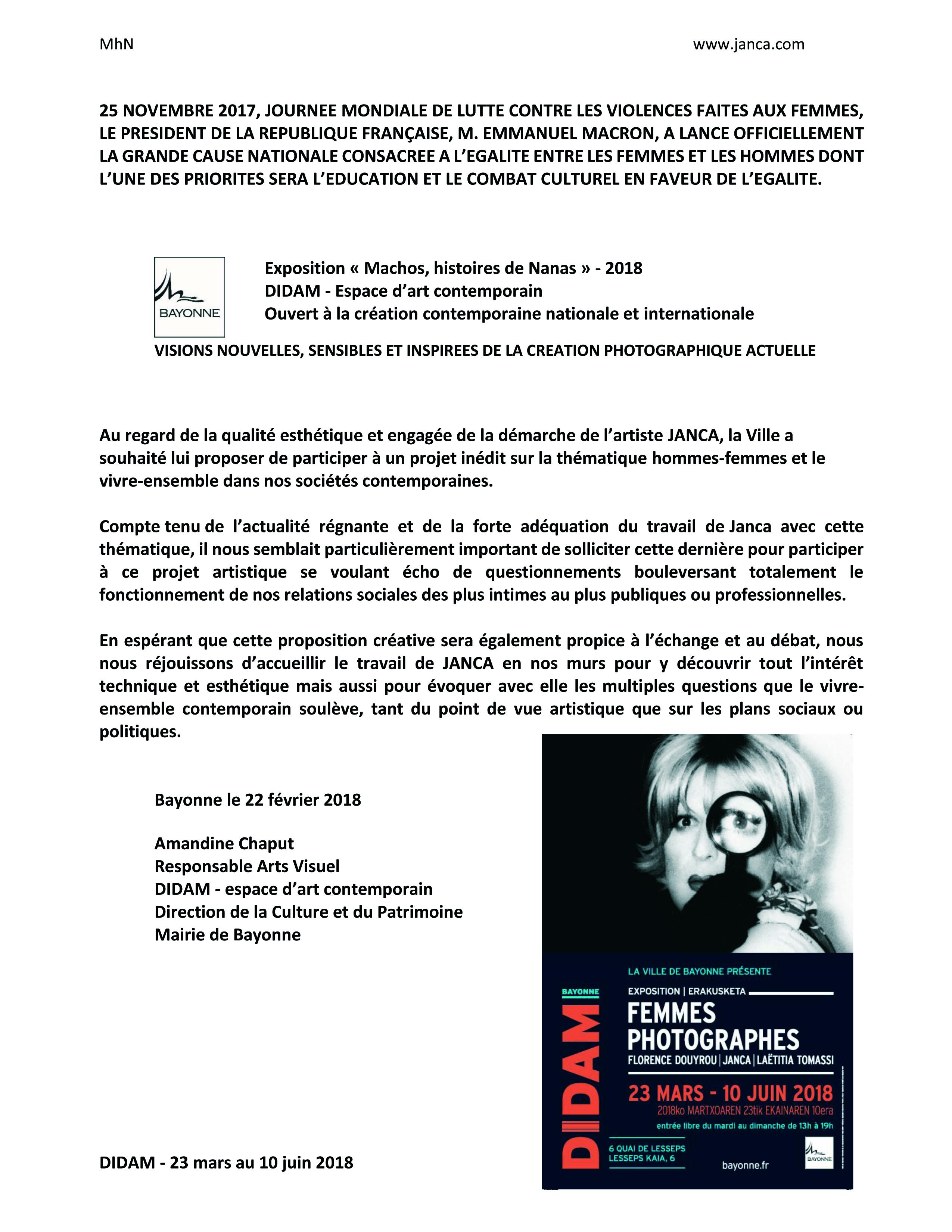 2  fr lettre de DIDAM  invitation