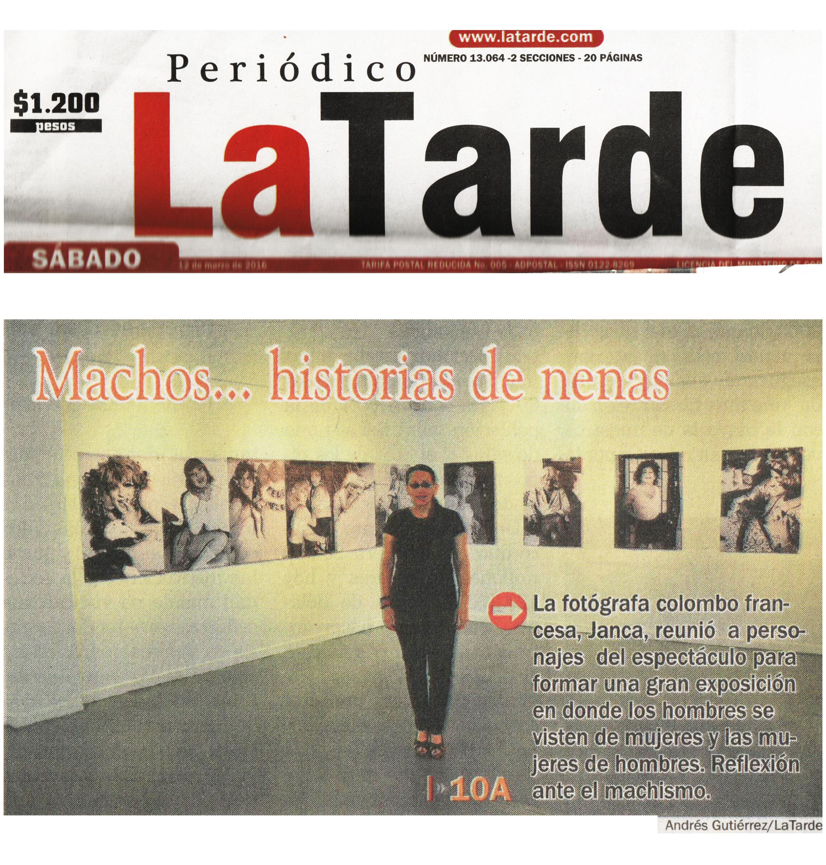 2016 - PEREIRA - La TARDE 1