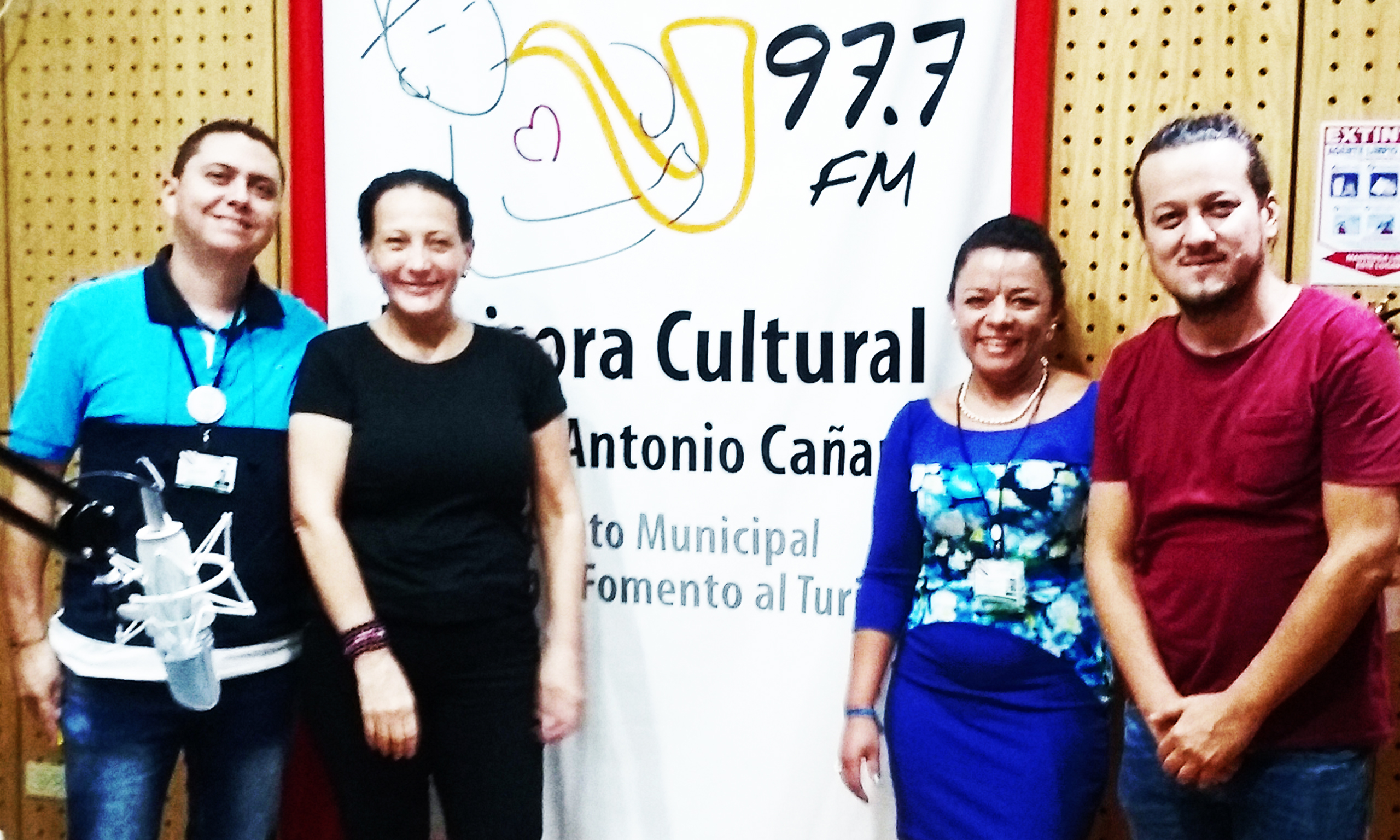 2016 - PEREIRA - radio 97.7 Emisora Cultural
