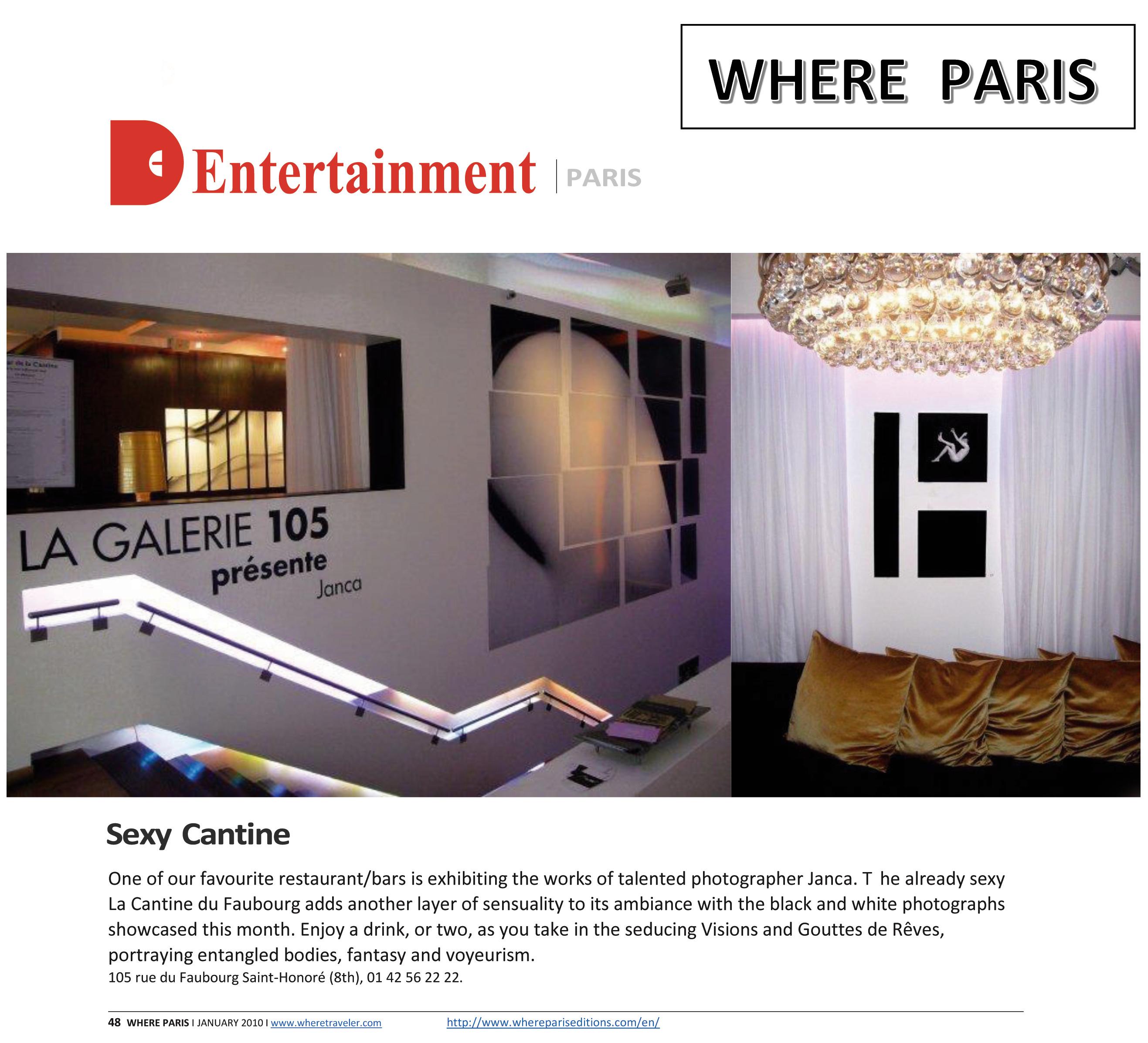 press - 2010 - PARIS  WHERE