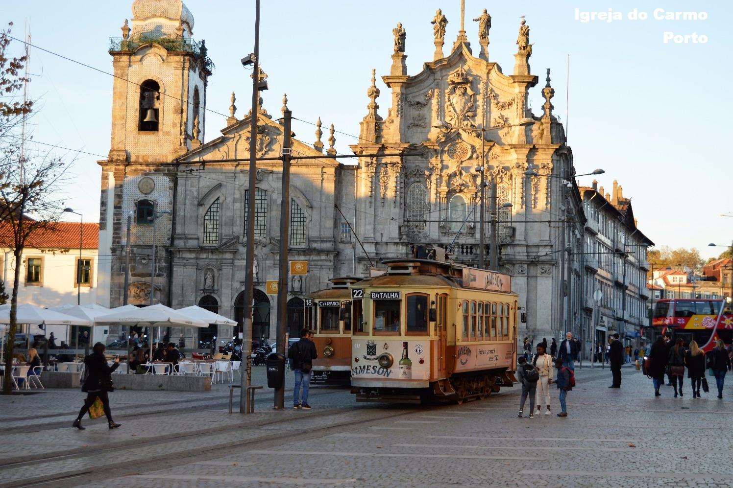electrico Carmo Porto Portugal