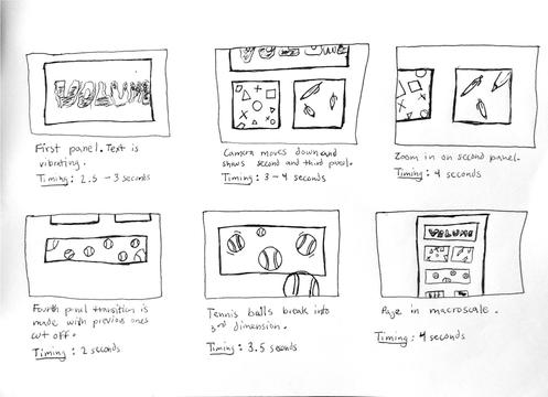 Rough Storyboard
