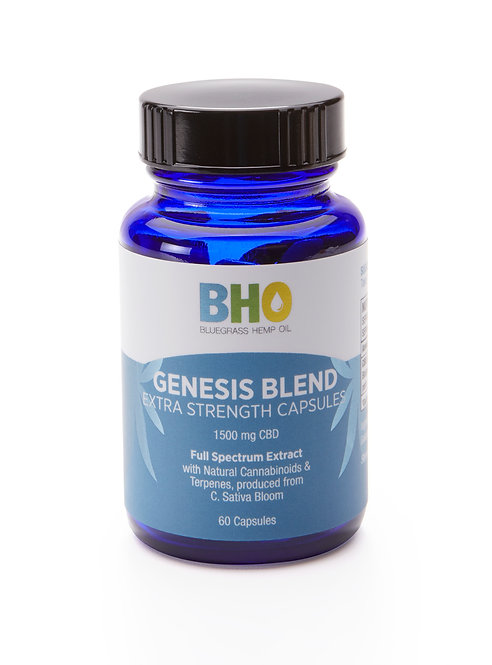 Genesis Blend Extra Strength Capsules