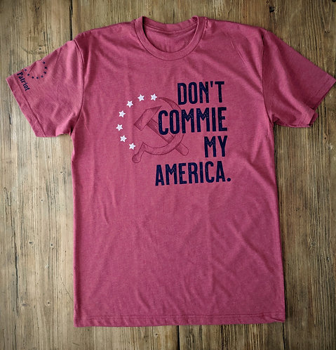 Don't Commie my America - Cranberry