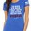 """Thumbnail: Women's """"100% American"""" - Royal"""
