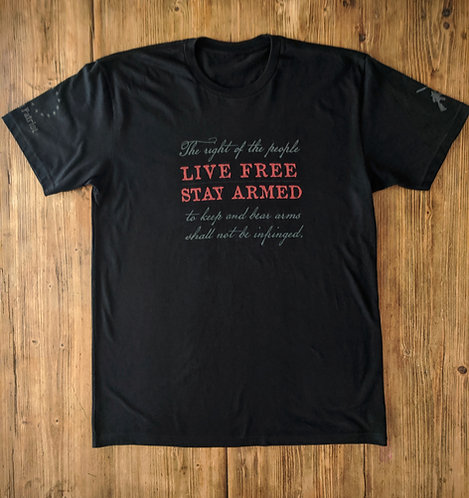 """Live Free"" & The 2nd - Black"