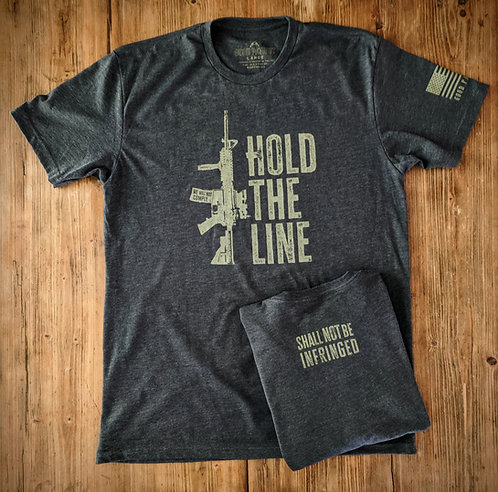Hold The Line - Charcoal