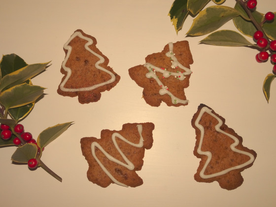GLUTEN FREE gingerbread trees