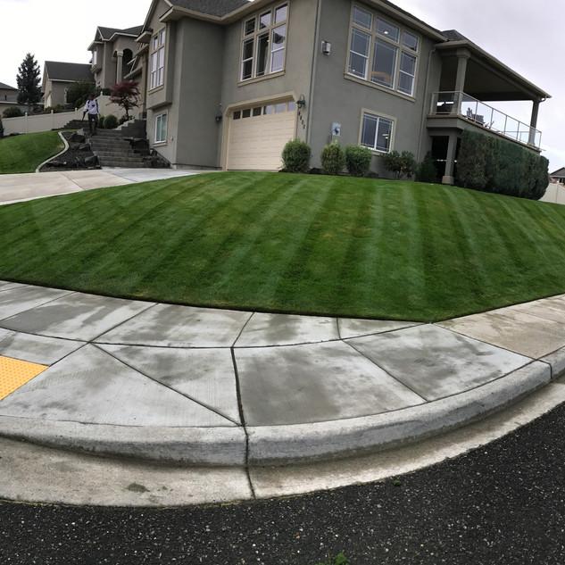 Residential landscape management, Kennewick WA