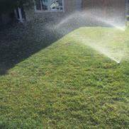 Sprinkler blowout, Richland WA