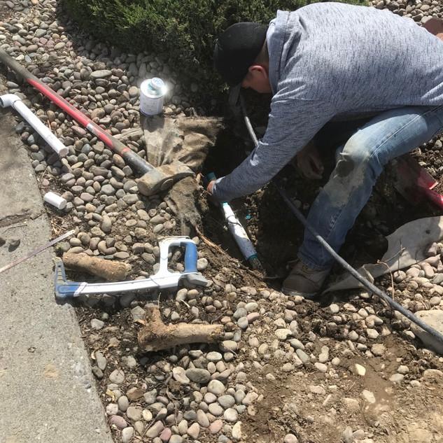 Sprinkler repair, Kennewick WA