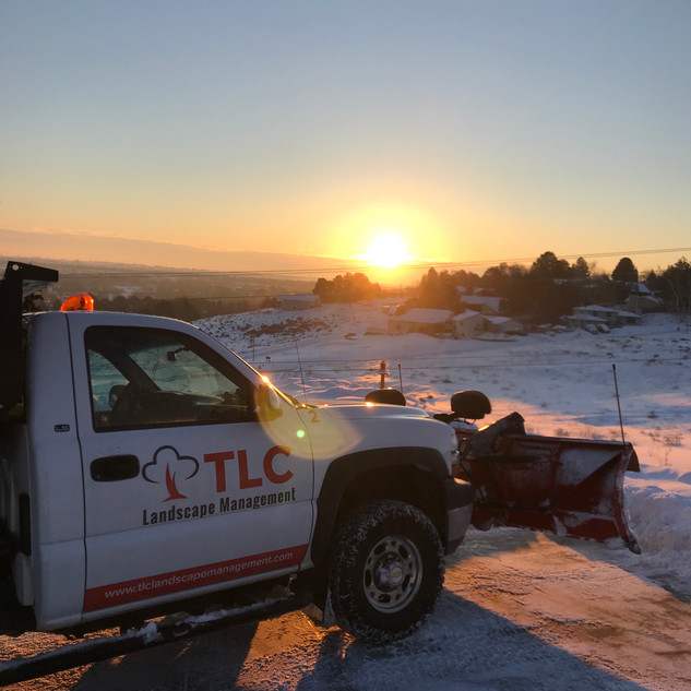Snow removal, West Richland WA