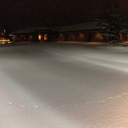 Snow plowing, Kennewick WA
