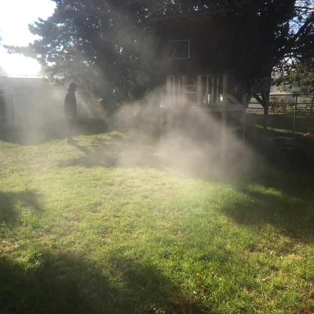 Sprinkler blowout, Kennewick WA