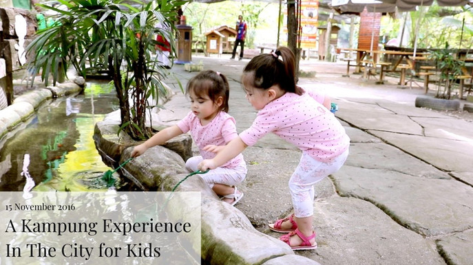 A Kampung Experience In The City for Kids