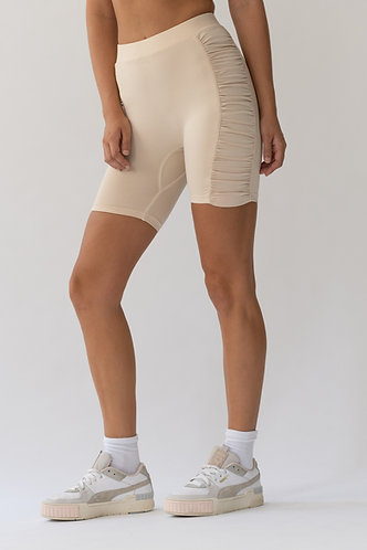 Creme Cycling Shorts