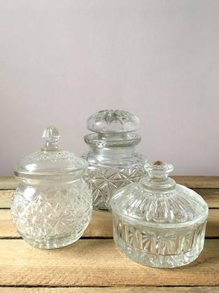 Trinket Pots - £1 each to hire