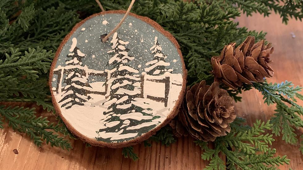 Winter Ornament- Small