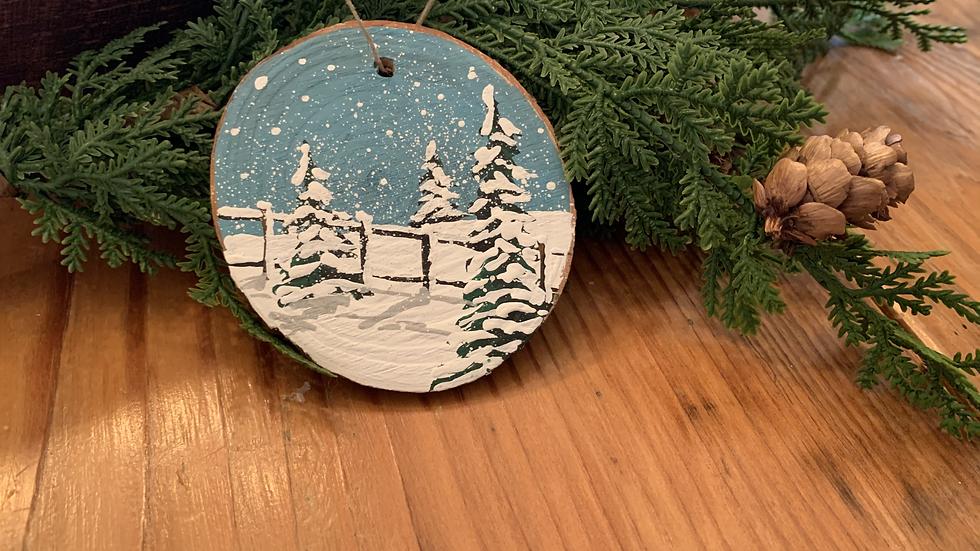 Winter Ornament- Large