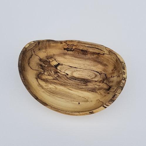 Natural Live Edge Wood Bowl