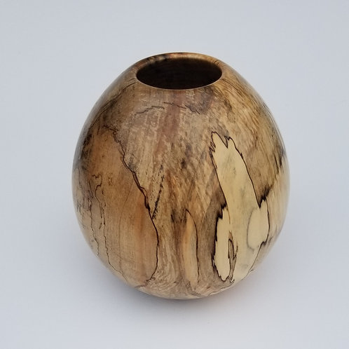 Spalted Maple Hollow Form Vase