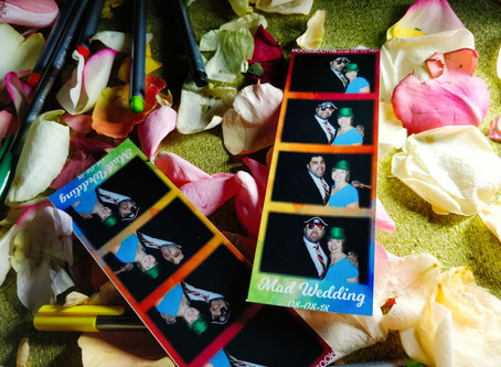 Wedding Photo Booth Hire Full of Colour in Heidelberg