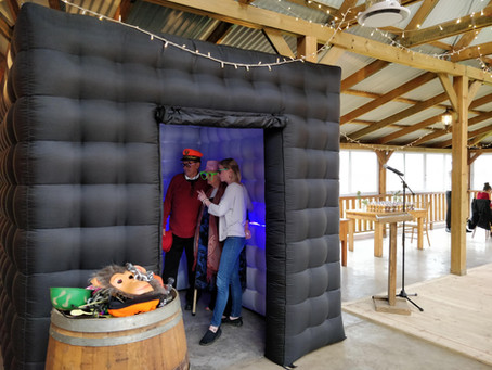 Inflatable photo booth fun in Heidelberg
