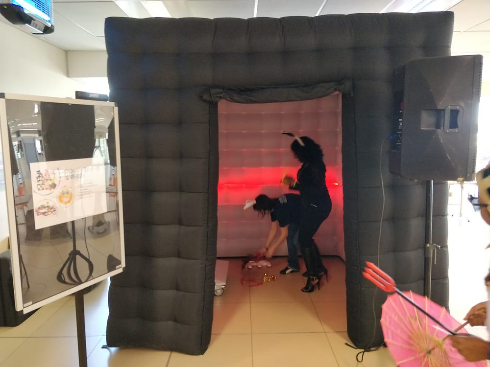 inflatable photo booth centurion