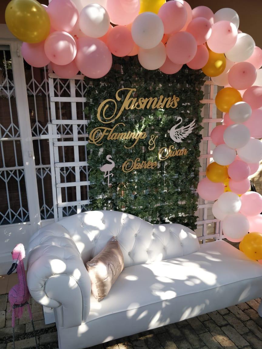 Party Balloon Backdrop