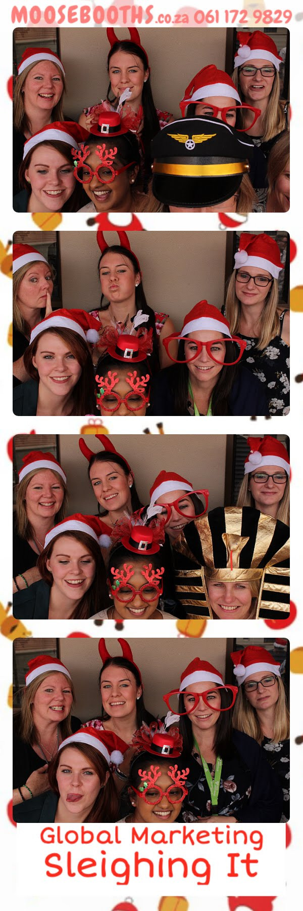 Christmas photo booth Johannesburg