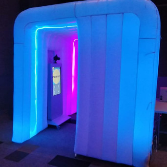 inflatable photo booth hire johannesburg