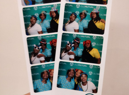 Corporate Photo Booth Rental for Old Mutual