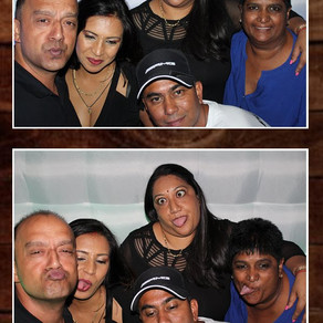 Celebrating 40 in style with a photo booth in Sandton