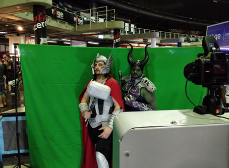 Green Screen Photo Booth at Ticketpro Dome in Northgate