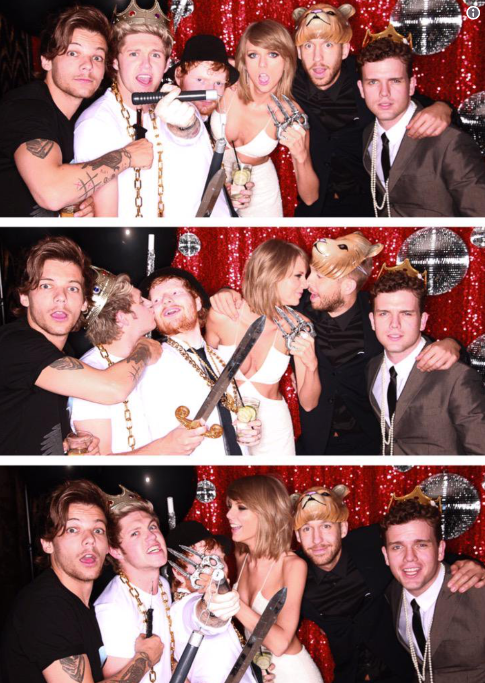 Taylor Swift photo booth