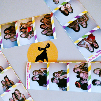 photo booth rental strips