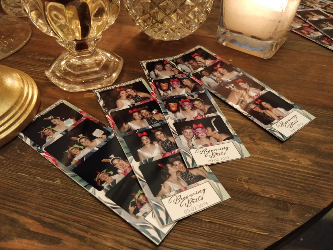 wedding photo strips