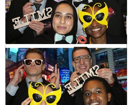 KPMG's Photo Booth Rental - The Next Generation Say Cheese