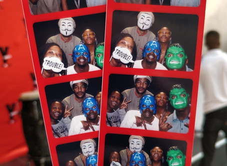 YFM Celebrates 21 Years with an Inflatable Photo Booth